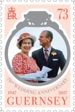 [The 70th Anniversary of the Wedding of Queen Elizabeth II and Prince Philip, Typ BJX]