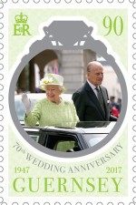 [The 70th Anniversary of the Wedding of Queen Elizabeth II and Prince Philip, Typ BJZ]