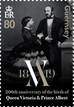 [The 200th Anniversary of the Birth of Queen Victoria, 1819-1901, type BMS]