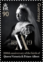 [The 200th Anniversary of the Birth of Queen Victoria, 1819-1901, Typ BMT]