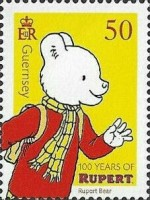 [The 100th Anniversary of Rupert Bear, Typ BOZ]