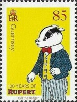 [The 100th Anniversary of Rupert Bear, Typ BPC]