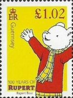 [The 100th Anniversary of Rupert Bear, Typ BPE]