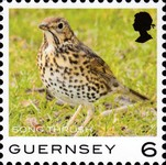 [Definitives - Guernsey Birds, type BQO]