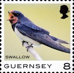 [Definitives - Guernsey Birds, type BQQ]