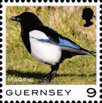 [Definitives - Guernsey Birds, type BQR]