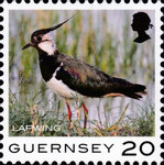 [Definitives - Guernsey Birds, type BQT]
