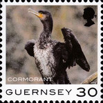 [Definitives - Guernsey Birds, type BQU]