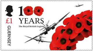 [The 100th Anniversary of the Royal British Legion, type BRA]