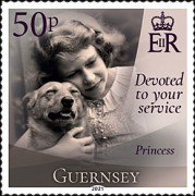 [Devoted to Your Service - The 95th Anniversary of the Birth of Queen Elizabeth II, type BRL]