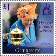 [Devoted to Your Service - The 95th Anniversary of the Birth of Queen Elizabeth II, type BRO]