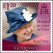 [Devoted to Your Service - The 95th Anniversary of the Birth of Queen Elizabeth II, type BRQ]