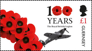 [The 100th Anniversary of the Royal British Legion, type BRR]