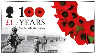 [The 100th Anniversary of the Royal British Legion, type BSH]