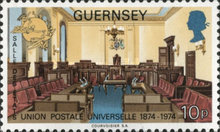 [The 100th Anniversary of The Universal Postal Union, type CI]