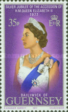 [Silver Jubilee of the Accession of H.M. Queen Elizabeth II, type DT]