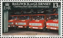 [The 10th Anniversary of the Guernsey Post Office, Typ FS]
