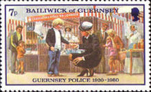 [The 60th Anniversary of the Guernsey Police, Typ GB]
