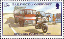 [The 60th Anniversary of the Guernsey Police, Typ GC]