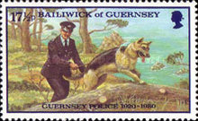 [The 60th Anniversary of the Guernsey Police, Typ GD]
