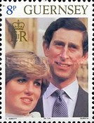 [Royal wedding, Lady Diana Spencer and Prins Charles, Typ GV]