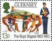 [The 100th Anniversary of the Boys Brigade, Typ IE]