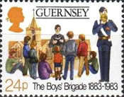 [The 100th Anniversary of the Boys Brigade, Typ IF]