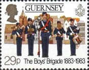 [The 100th Anniversary of the Boys Brigade, Typ IH]