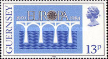 [EUROPA Stamps - Bridges - The 25th Anniversary of CEPT, Typ JD]