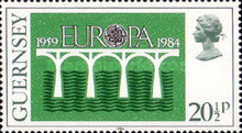 [EUROPA Stamps - Bridges - The 25th Anniversary of CEPT, Typ JD1]