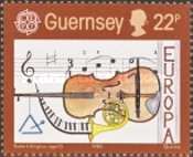 [EUROPA Stamps - European Music Year, Typ KN]