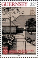 [EUROPA Stamps - Modern Architecture, Typ ND]