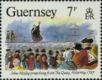 [The 200th Anniversary of the visit from John Wesley, Typ NR]