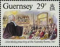[The 200th Anniversary of the visit from John Wesley, Typ NT]