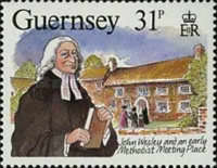 [The 200th Anniversary of the visit from John Wesley, Typ NU]