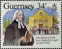 [The 200th Anniversary of the visit from John Wesley, Typ NV]