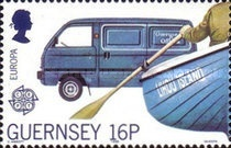 [EUROPA Stamps - Transportation and Communications, Typ OF]