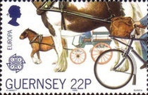 [EUROPA Stamps - Transportation and Communications, Typ OH]
