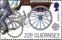 [EUROPA Stamps - Transportation and Communications, Typ OI]