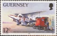 [The 50th Anniversary of the Guernsey Airport, Typ PP]