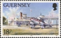 [The 50th Anniversary of the Guernsey Airport, Typ PS]