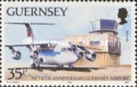 [The 50th Anniversary of the Guernsey Airport, Typ PT]