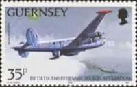 [The 50th Anniversary of the Guernsey Airport, Typ PU]