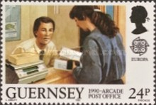 [EUROPA Stamps - Post Offices, Typ QW]