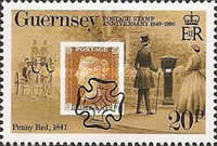 [The 150th Anniversary of the Stamps, Typ QY]
