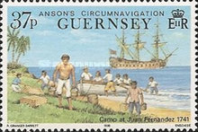 [The 250th Anniversary of Lord Ansons Circumnavigation of the Globe, Typ RG]