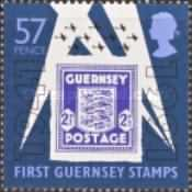 [The 50th Anniversary of Stamps from Guernsey, type RZ]