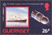[EUROPA Stamps - European Aerospace, type SF]