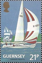 [The 100th Anniversary of the Guernsey Yacht Club, type SH]