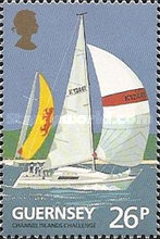 [The 100th Anniversary of the Guernsey Yacht Club, type SI]